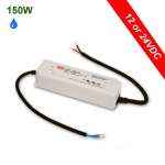Mean Well Waterproof LED Power Supply 150W - 12 or 24VDC